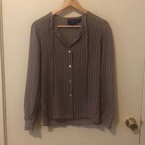 Vintage Givenchy for Chesa Striped Blouse